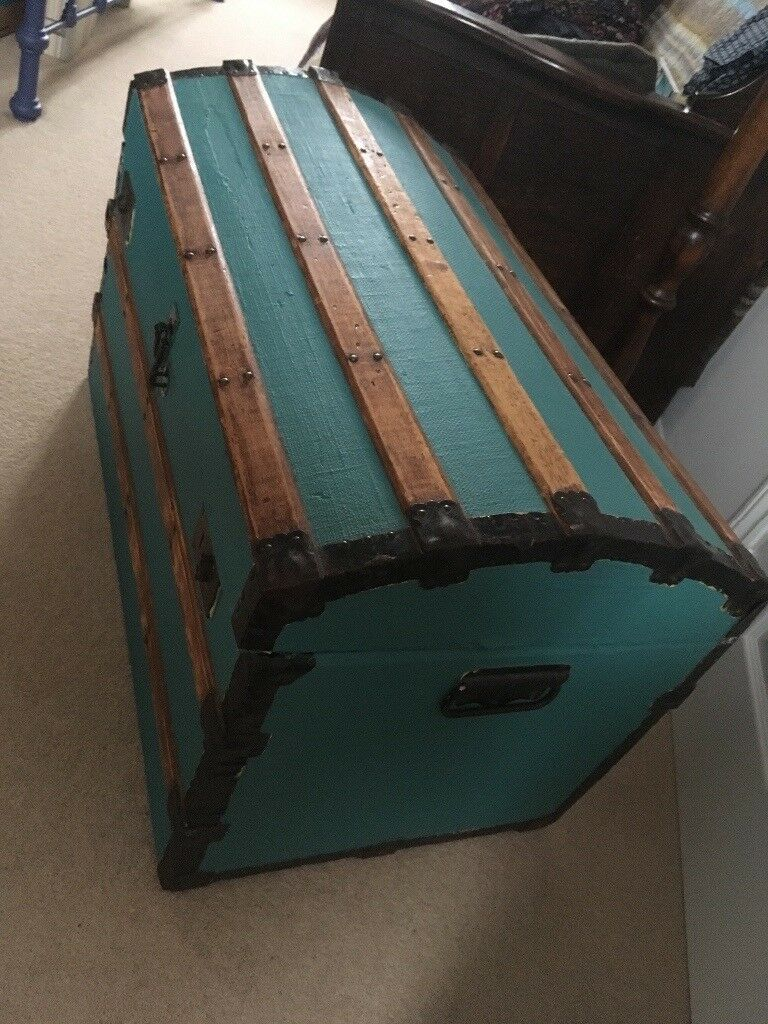 Old Storage Trunk, Domed, Lovely