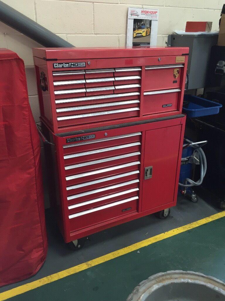 42  Clarke HD plus tool box & 42