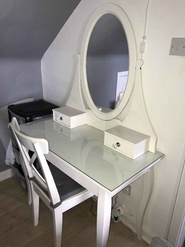 IKEA Hemnes Dressing Table U0026 Chair