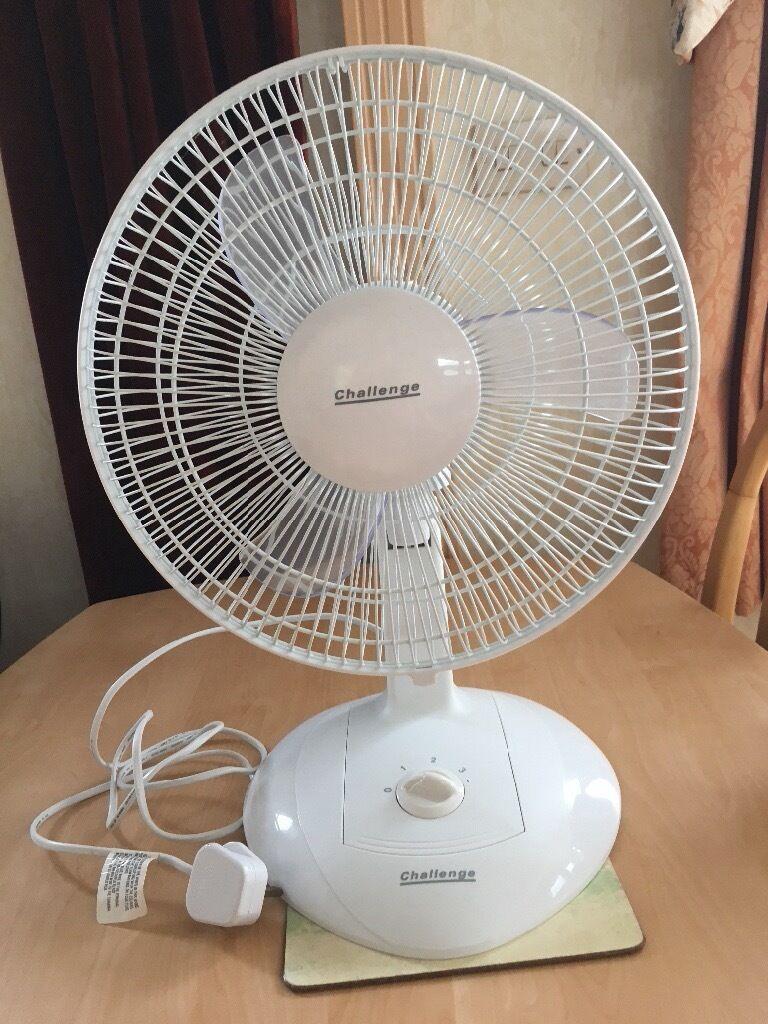Superbe Challenge 12 Inch Table Fan