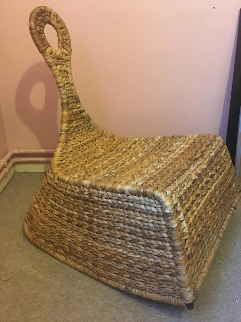Beau IKEA Wicker Rocking Chair