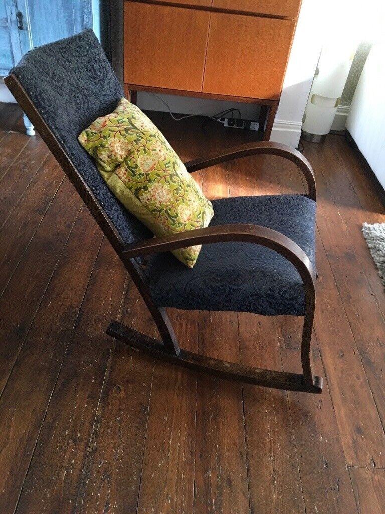 Vintage 1930u0027s Rocking Chair