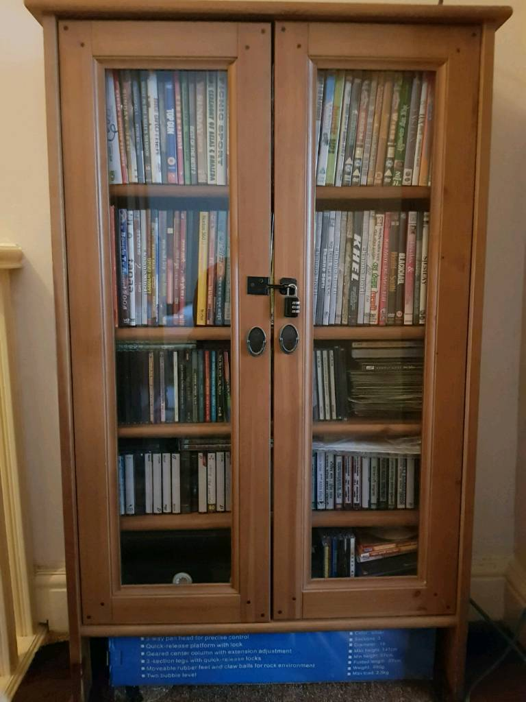 Solid Wood Dvd Storage Cabinet In Newham London Gumtree