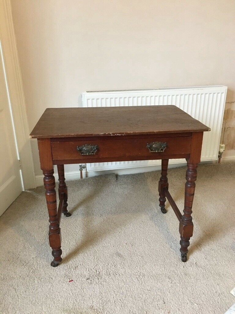 Small Vintage Table / Desk