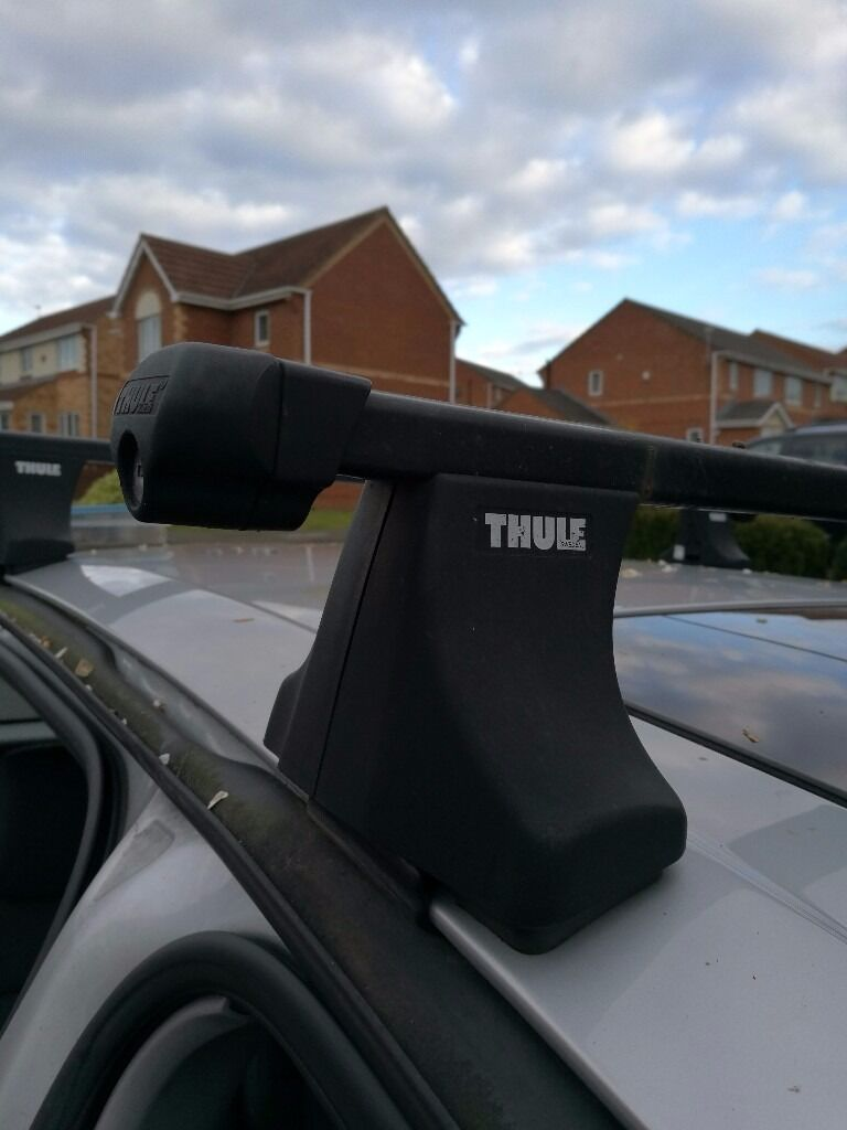 Thule Roof Bars Fit Nissan Almera Tino But May Fit Others See Photos For  Details