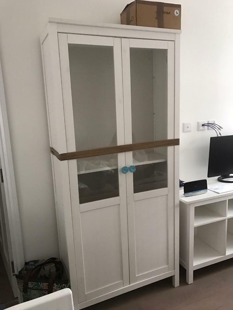Ikea Hemnes White Pantry Style Cabinet In Chiswick London Gumtree