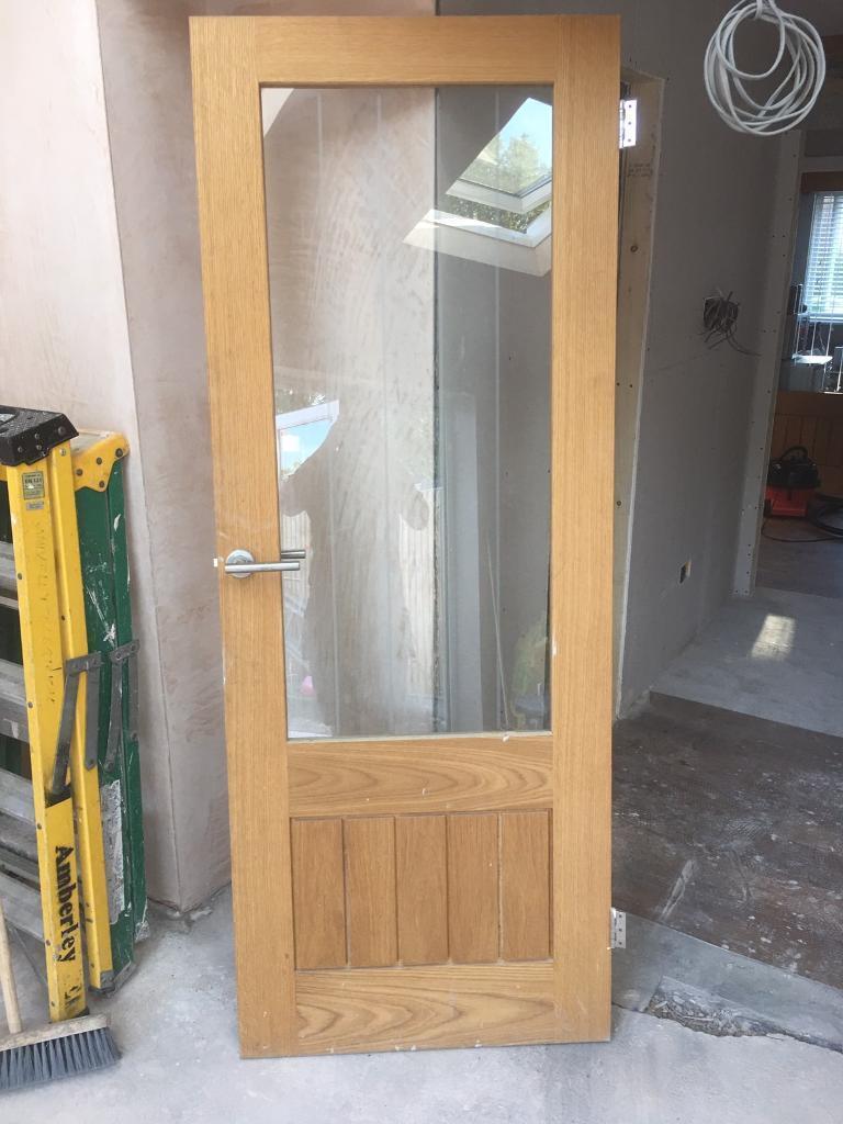Glazed oak door howdens Dordogne Oak glazed door & Glazed oak door howdens Dordogne Oak glazed door | in Chandlers Ford ...