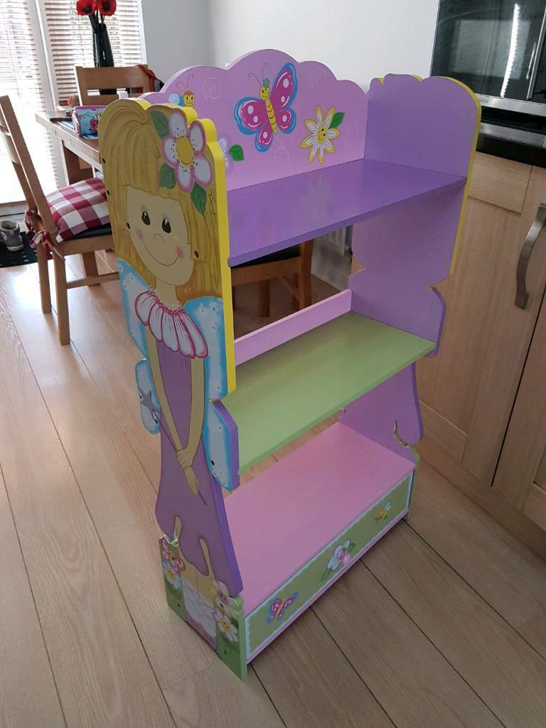 Charming Liberty House Girls Fairy Bedroom Furniture, Bookshelf And Table U0026 Chairs  Set