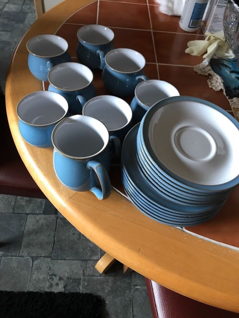 Denby tea set colonial blue (discontinued) & Denby tea set colonial blue (discontinued) | in Oldmeldrum ...