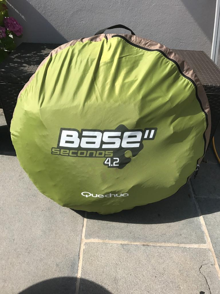 Quechua Base 4.2 pop-up tent (4 man) & Quechua Base 4.2 pop-up tent (4 man) | in Portsmouth Hampshire ...