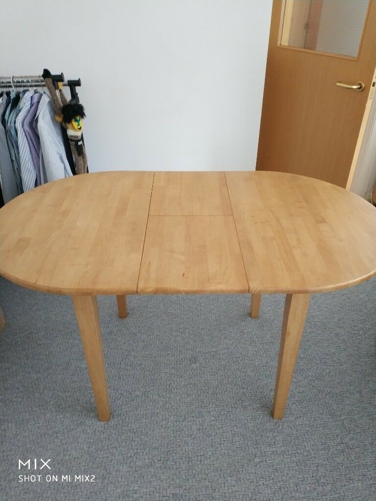 Wooden, Extendable Table