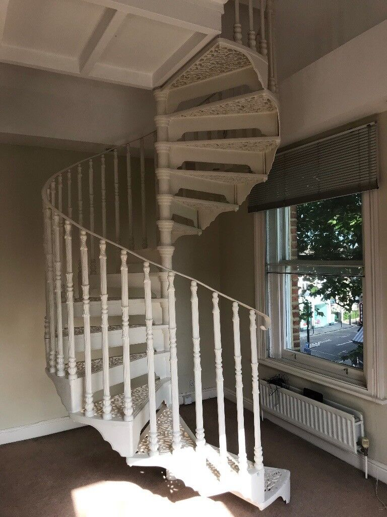 Beautiful Cast Iron Staircase