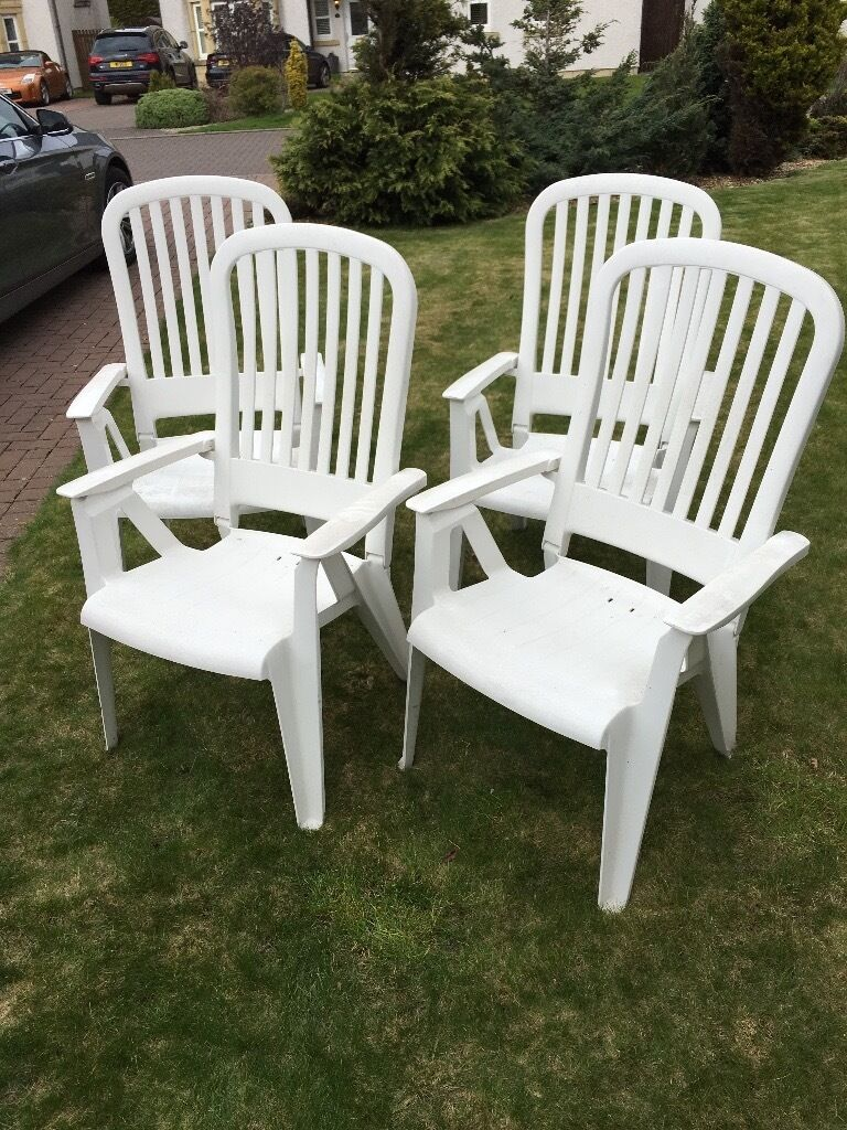 Four reclining plastic garden chairs. : reclining plastic garden chairs - islam-shia.org