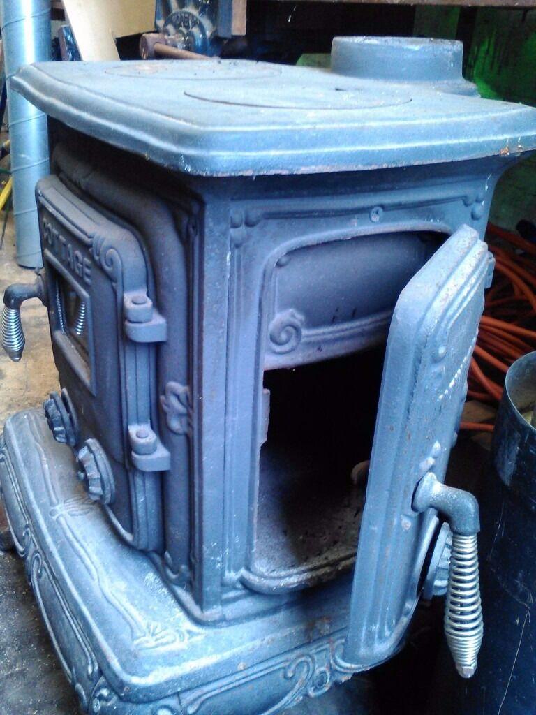 Newport Cottage Log Burner