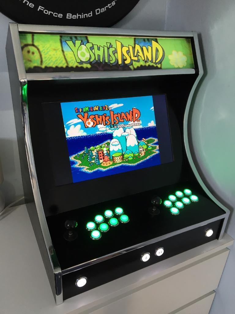 Raspberry Pi 3 Bartop/Desktop Arcade Cabinet & Raspberry Pi 3 Bartop/Desktop Arcade Cabinet   in Bromham ...