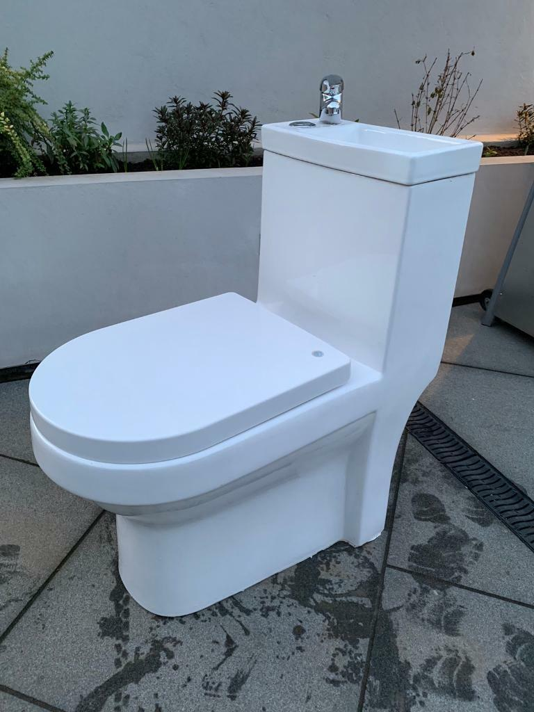 Combination Toilet And Sink Unit