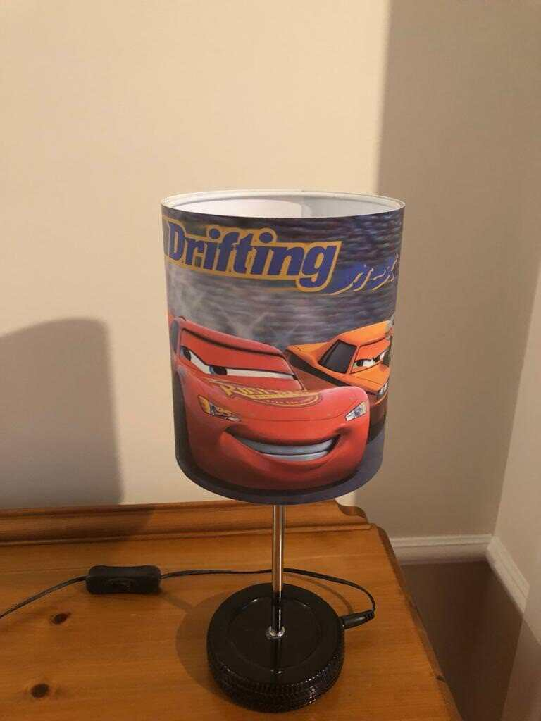 Disney Cars Lamp