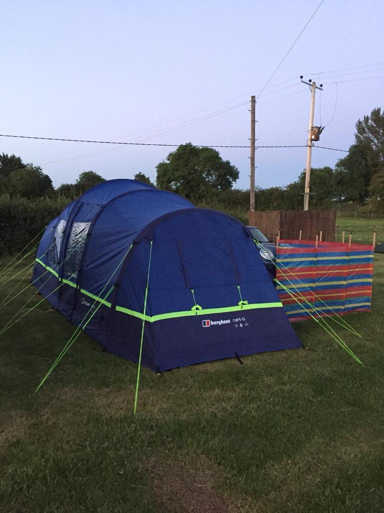 Berghaus air 6 man tent & Berghaus air 6 man tent | in Wolverhampton West Midlands | Gumtree