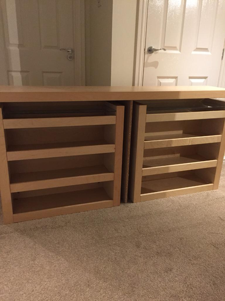 Headboard With Pull Out Storage, Ikea Malm Range