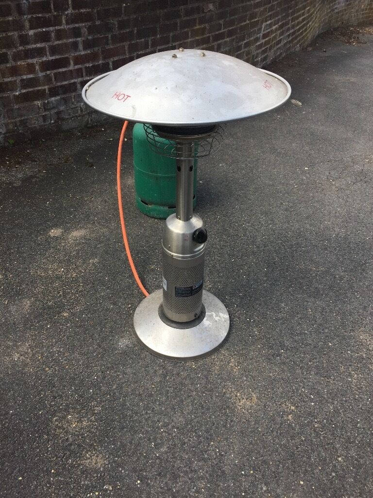 Elegant 4kW Endless Summer Tabletop Patio Heater And Patio Gas