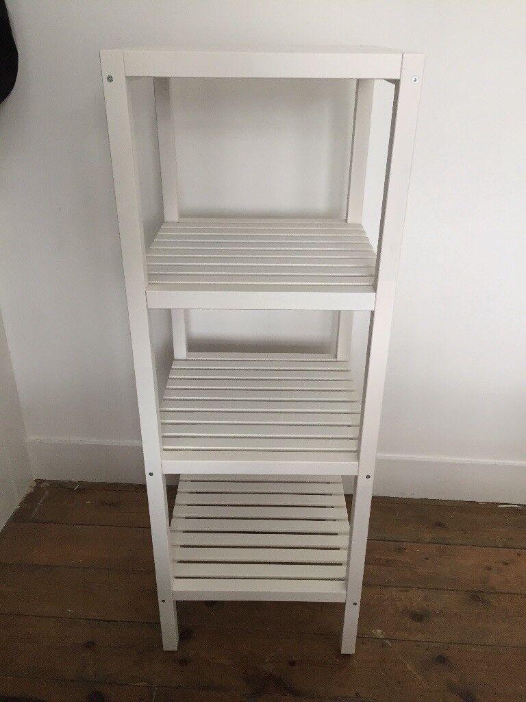 Ikea Bathroom Shelving Unit (white)