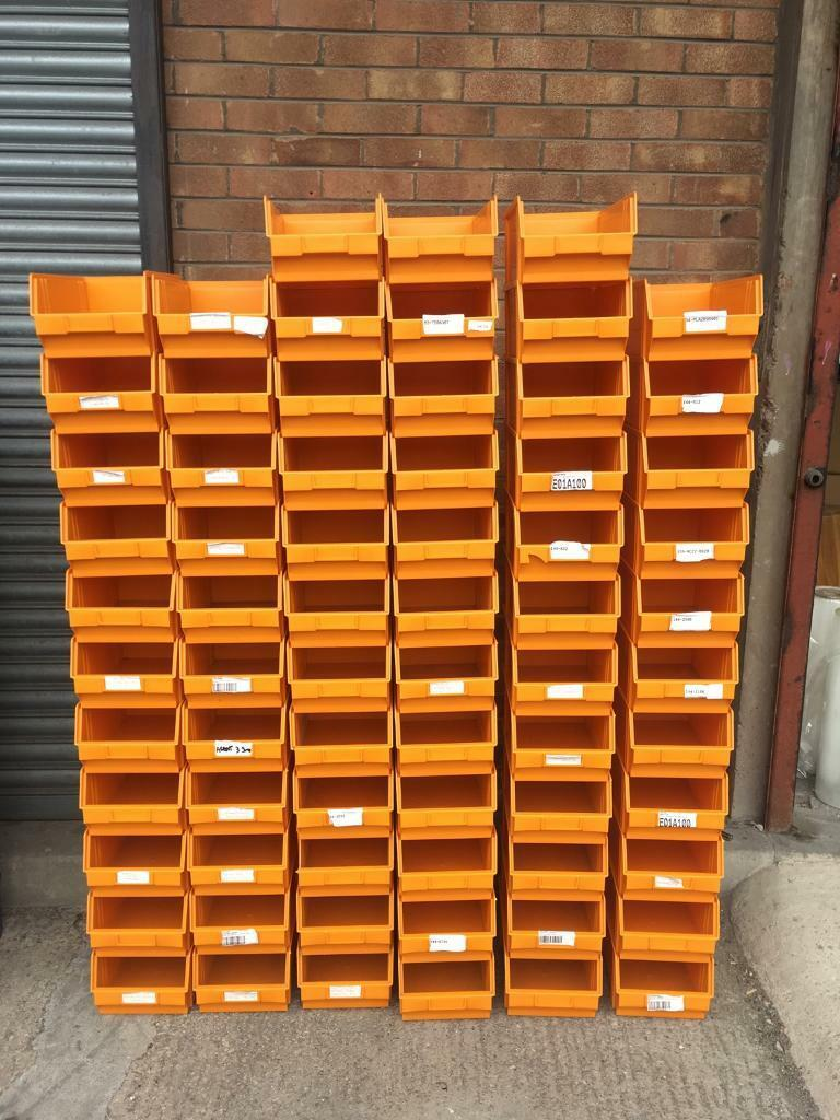 69 Plastic Parts Storage Bins Boxes