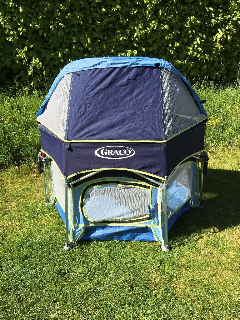 Graco Pack n Play Sport Playpen - portable UV resistant with removable sun canopy : graco pack n play canopy - memphite.com