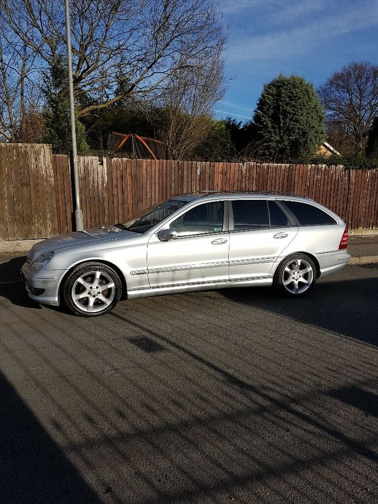 MERCEDES C 180 KOMPRESSOR ESTATE SPORT EDITION 55 PLATE £2800 ONO A MUST  SEE CAR