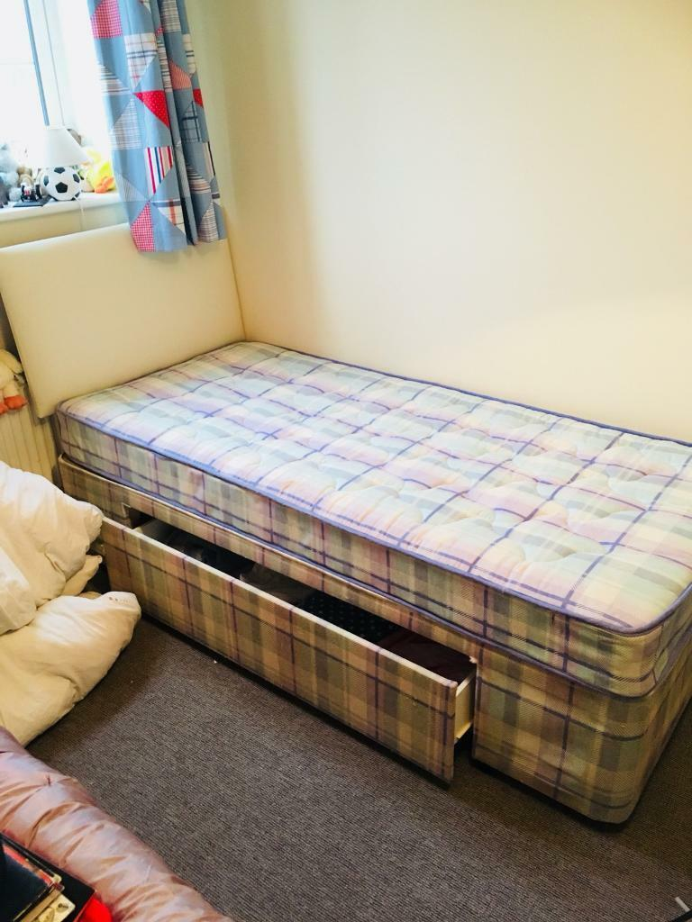 Single an bed and mattress with under bed storage. & Single an bed and mattress with under bed storage. | in Didcot ...