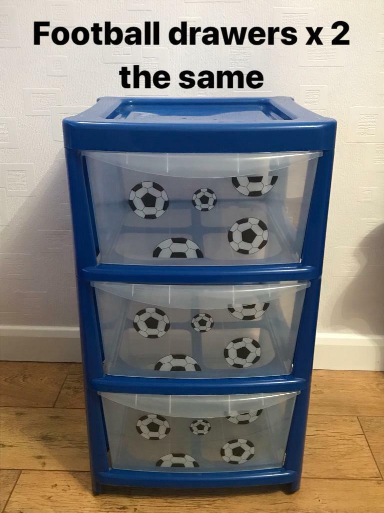 2 x football storage units / Drawers  sc 1 st  Gumtree & 2 x football storage units / Drawers | in Trench Shropshire | Gumtree