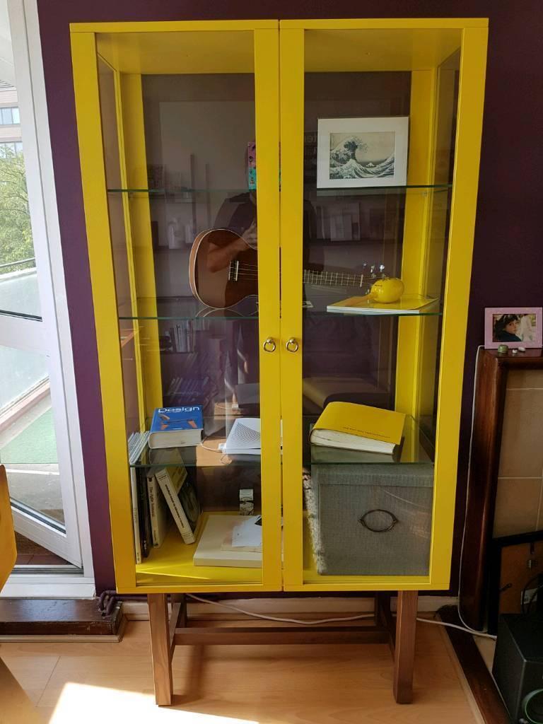 Ikea Stockholm Gl Door Cabinet Like New In Lambeth London