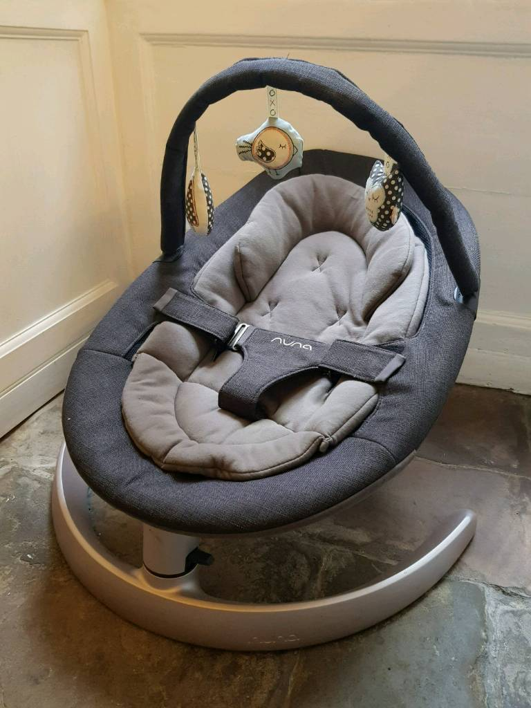 Nuna Leaf Curve Baby Chair u0026 Toy Arch - Only 6 Months Old & Nuna Leaf Curve Baby Chair u0026 Toy Arch - Only 6 Months Old | in ...