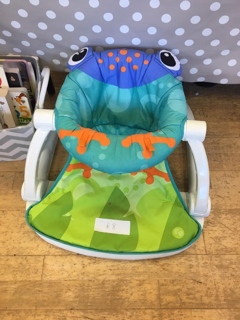 Exceptionnel Superior Fisher Price Sit Me Up Froggy Chair