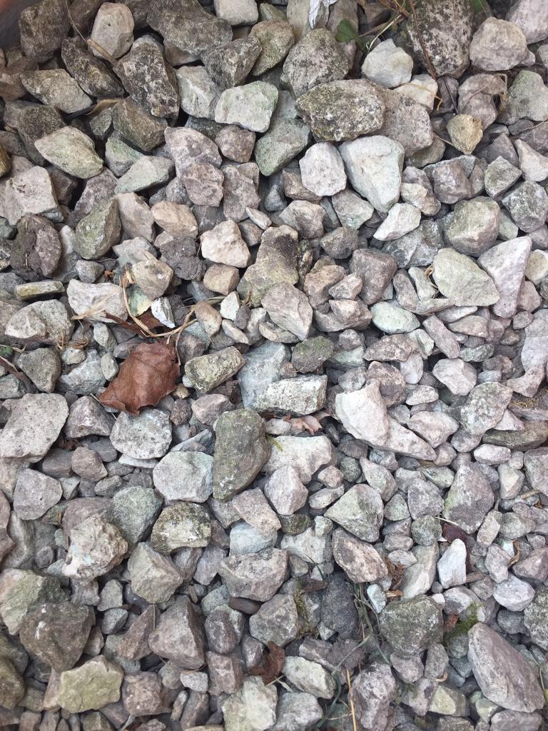 White Garden Stones