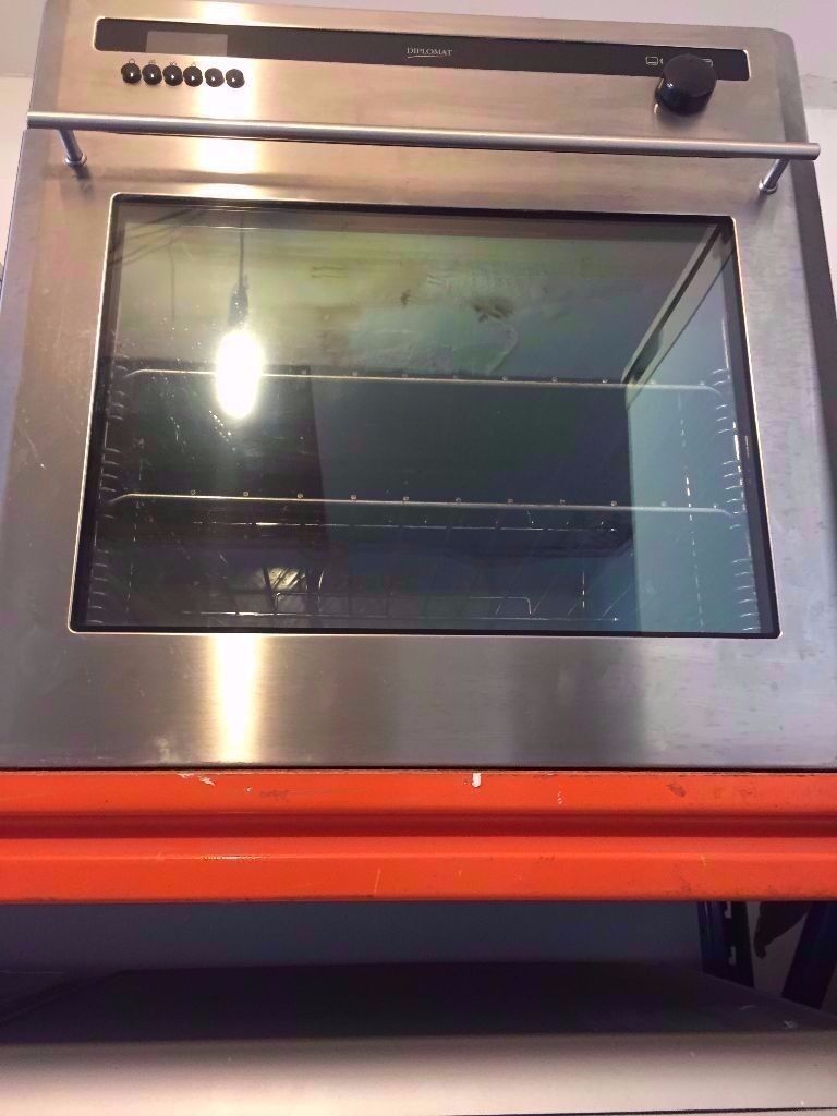 Wonderful Gas Oven And Grill Part - 9: Diplomat Built In Oven, Silver Colour, Gas Oven And Grill, For Sale