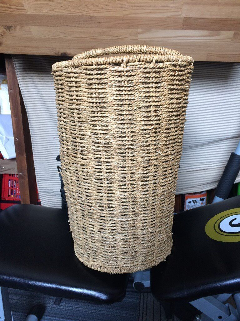 Wicker Staircase Basket