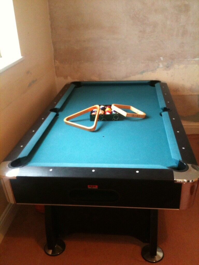 Pool Table   Bar Style. With Legs. Good Condition. Collection Only.