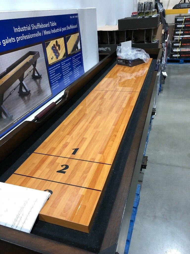 Well Universal Shuffleboard Tables Modern Coffee And Accent