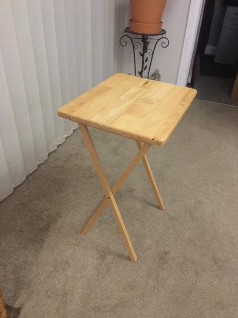 Foldaway Table Good Condition