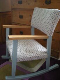 Childu0027s Vintage Rocking Chair