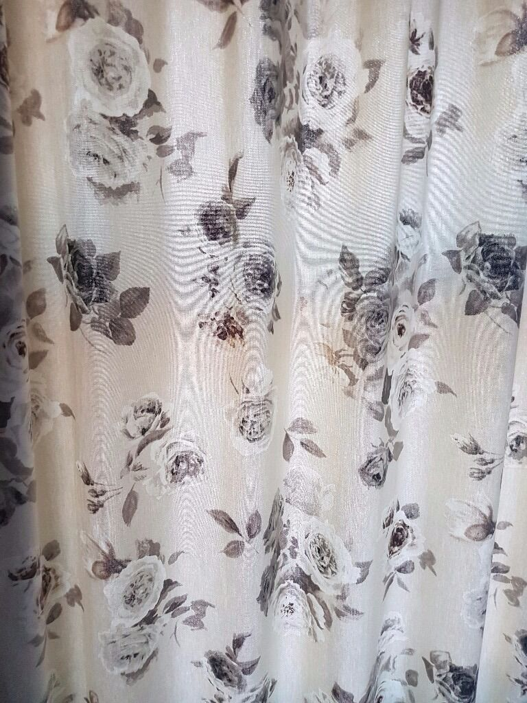 Next Vintage Rose Curtains U0026 Pole