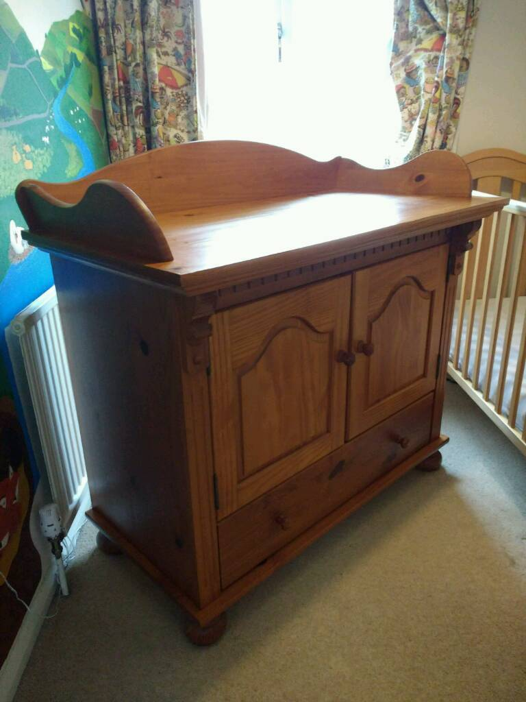 Solid Pine Baby Changing Table