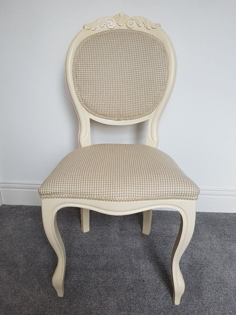 Etonnant French Louis Style Refurbished Shabby Chic Boudoir Chair   NEW PRICE
