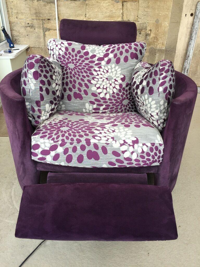 Elegant FAMA Reclining, Swivel, Rocker Electric Moon Chair