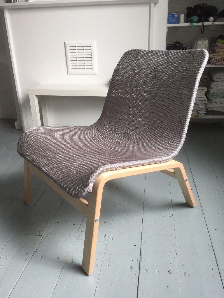 Grey IKEA Nolmyra Easy Chair   As New!