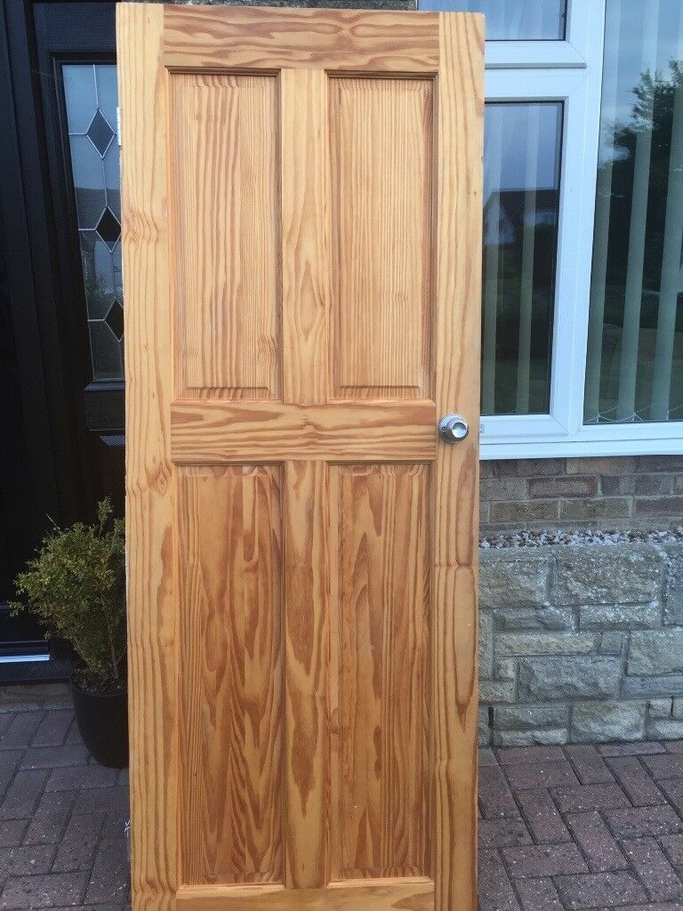 Knotty Pine internal doors including handles & Knotty Pine internal doors including handles | in Lincoln Lincolnshire ...