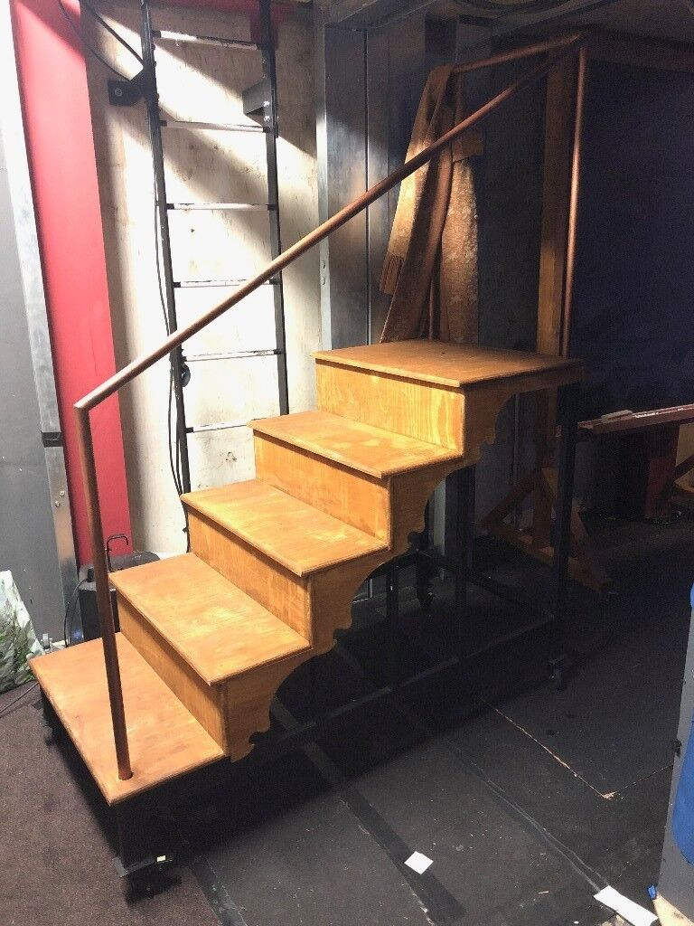 Movable Staircase Built For Park Theatre Production   COLLECTION BY SUNDAY  14 JAN 2018
