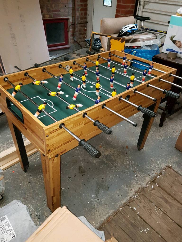 Elegant Multi Use Table Football, Ice Hockey, Ping Pong And Pool Table