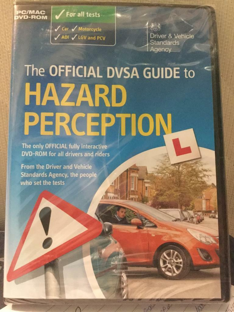 The Official DVSA Guide to Hazard Perception DVD & The Official DVSA Guide to Hazard Perception DVD | in Droitwich ...