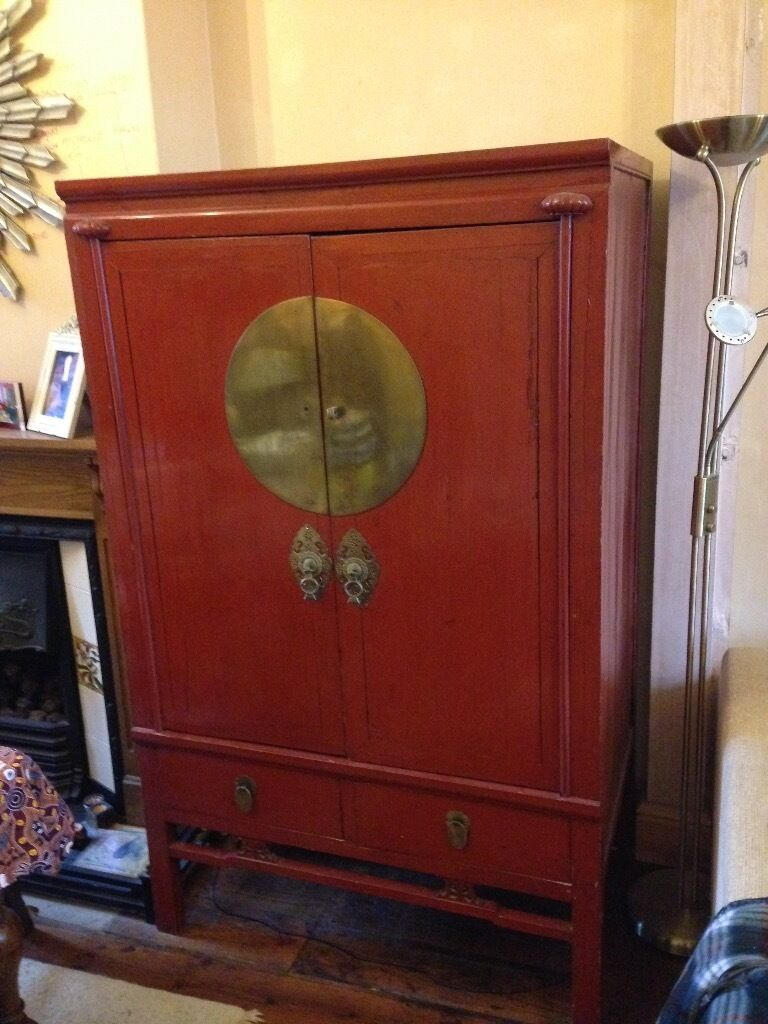 Gentil Chinese Wedding Cabinet Can Be Used For Wardrobe Or TV Cabinet Or Storage  Unit